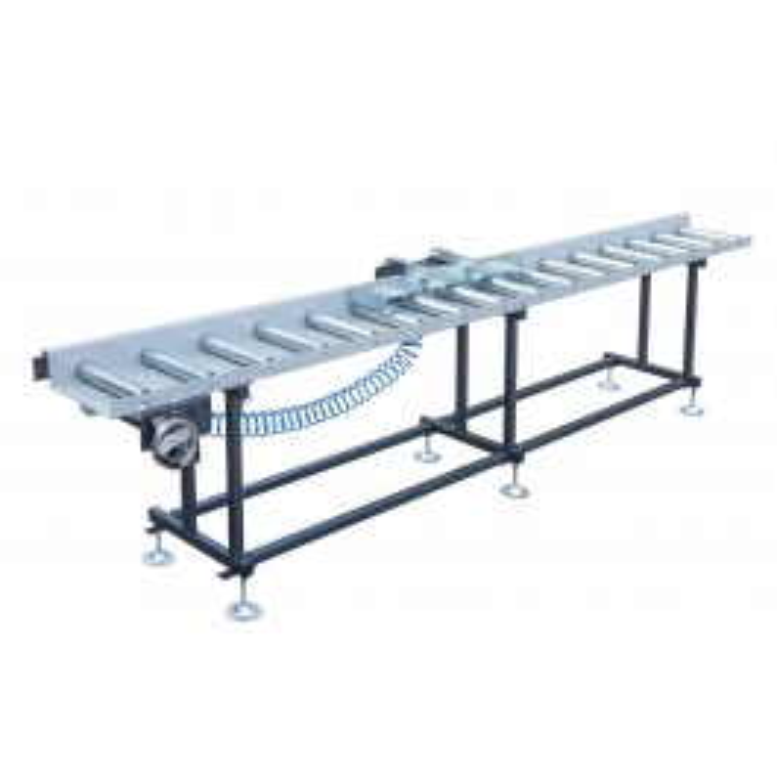 Roller conveyor with handwheel adjustment & digital