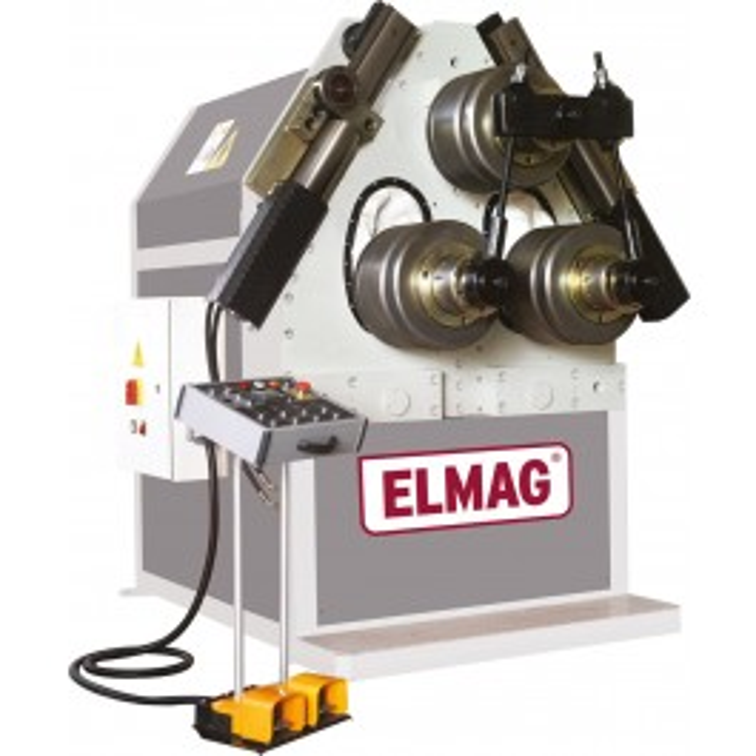 Hydraulic ring bending machine