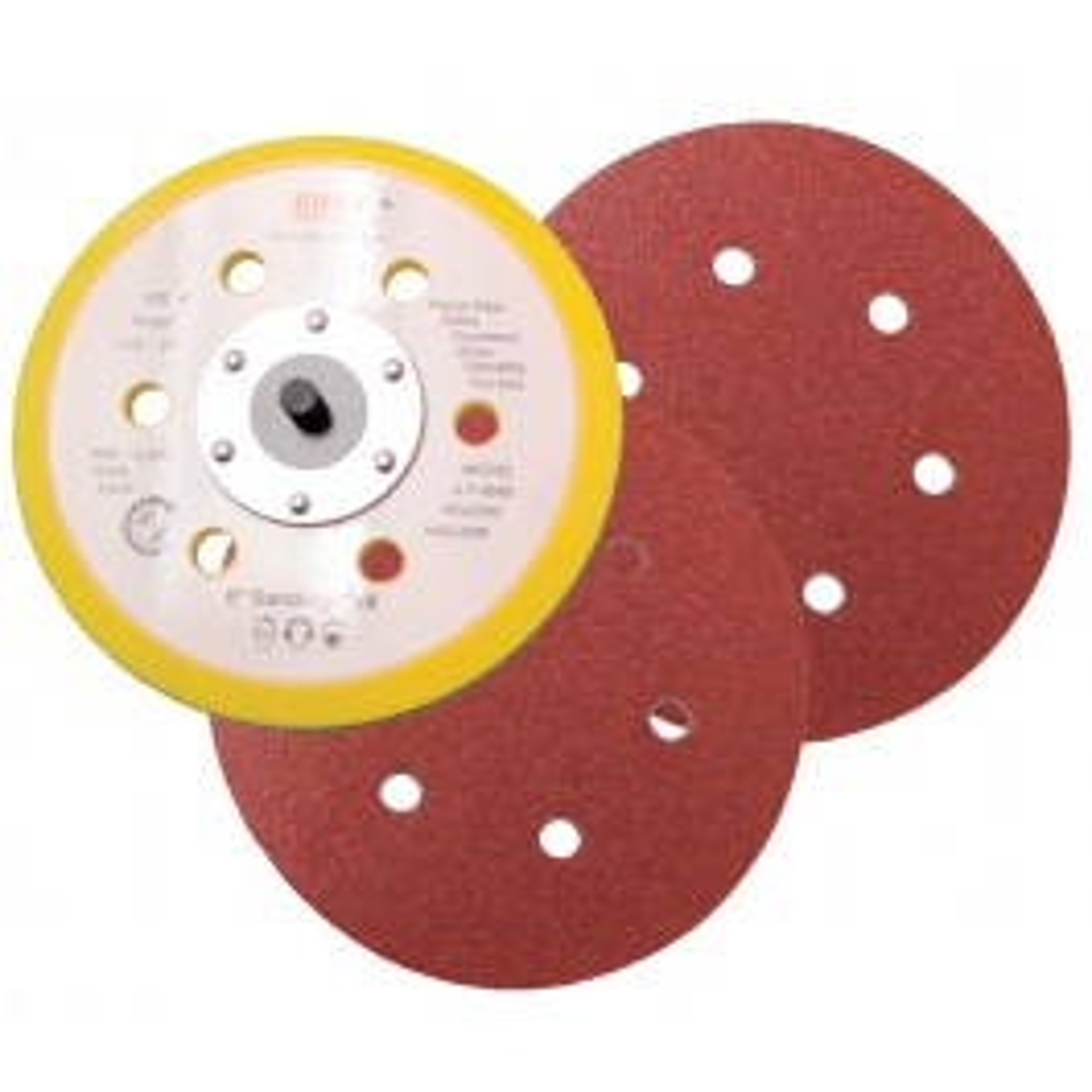 Abrasive sheet Ø 150 mm, grain 100