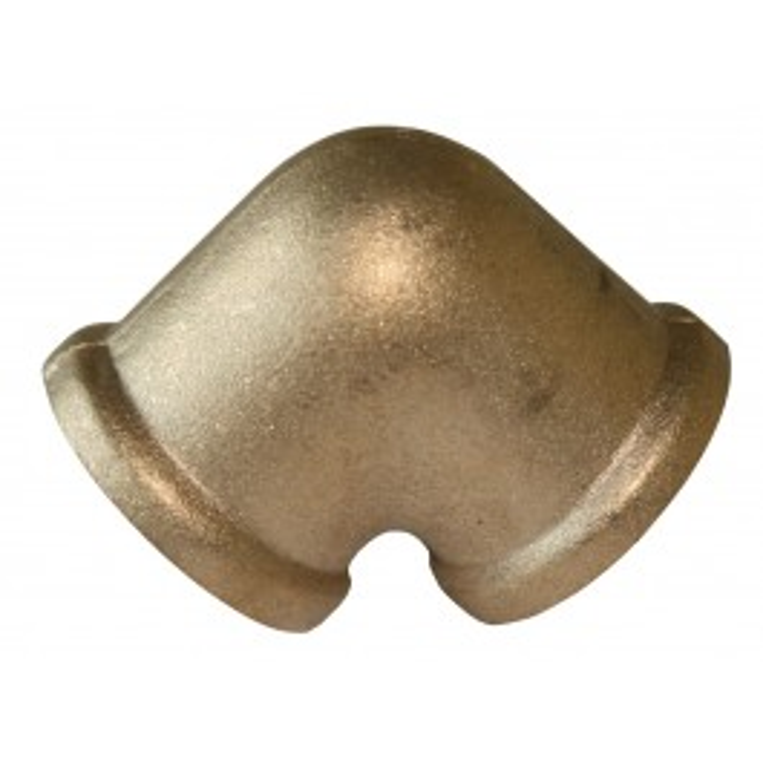 Knee 90° brass (nickel plated)