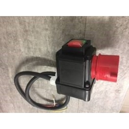 Switch 0/1 compl. including plug part