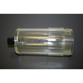 Sight glass with drain valve