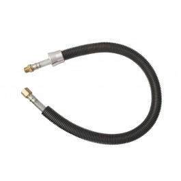 Supply and exhaust hose combined