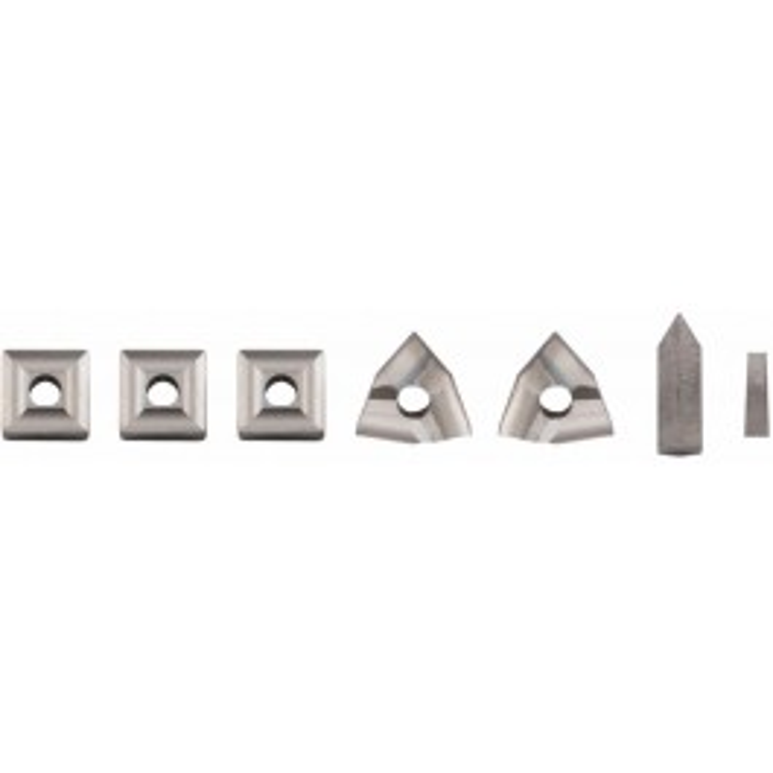 Indexable insert set, 7-piece