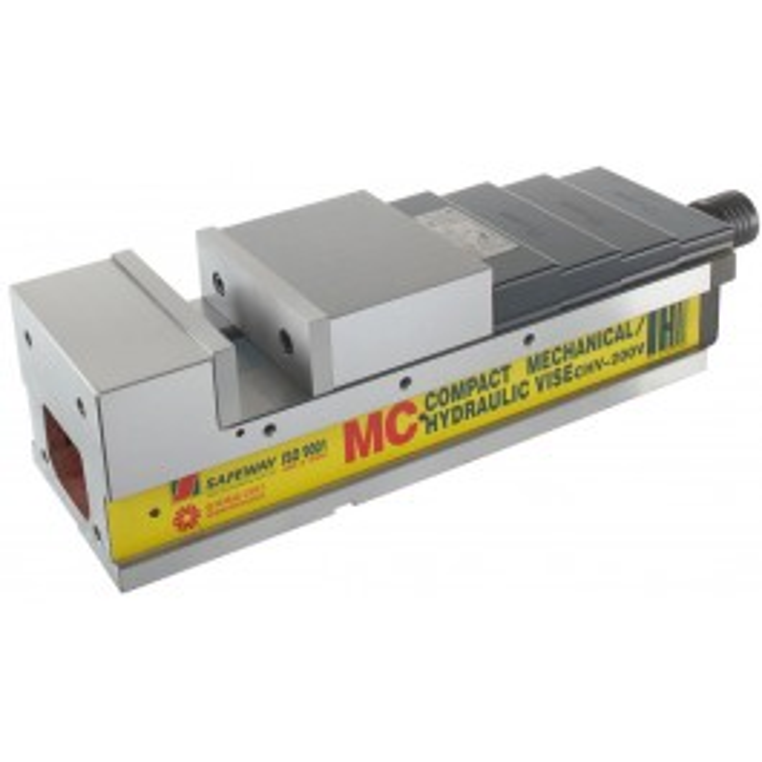 CNC hydraulic vice