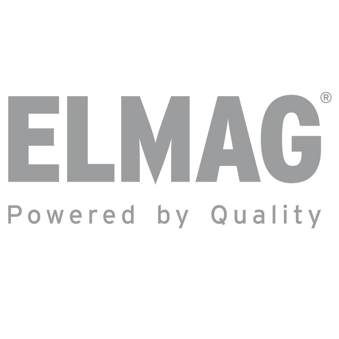 Compressed air tank, horizontal, 11 bar - ZINC PLATED