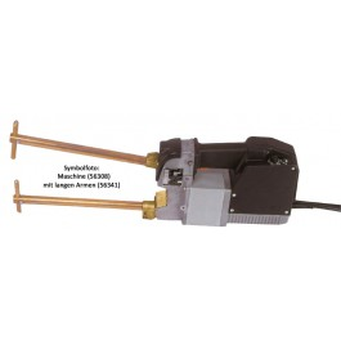 CU electrode arms including Ø 12mm electrodes, L=500mm