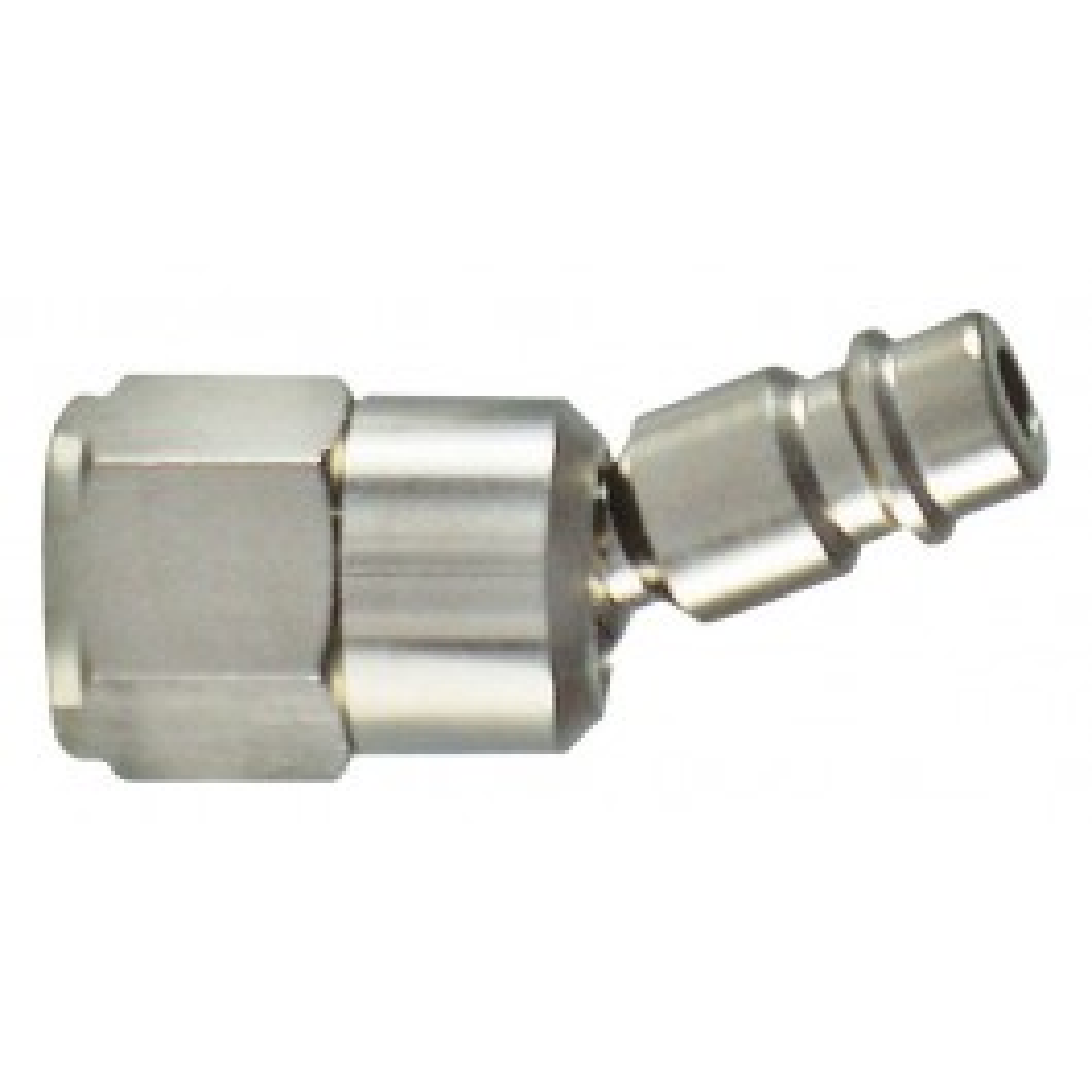 Steel swivel connector DN 7.2