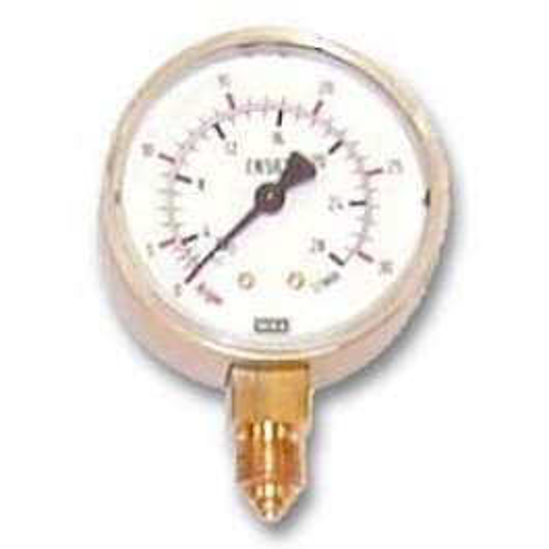 Working pressure gauge (Argon-CO2)