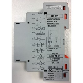 Multifunction time relay for generators