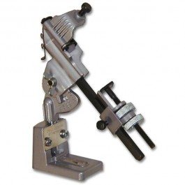 Universal drill grinding device