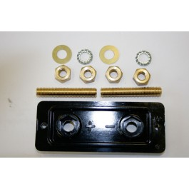 Changeover plate gas/no gas