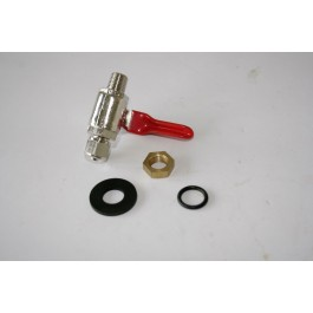 Coolant tank incl. ball valve