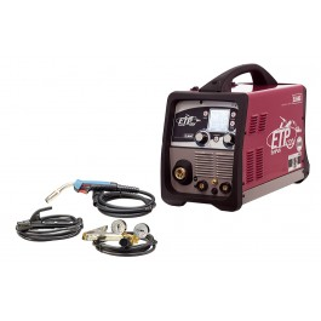 Multifunction welding inverter, portable - STEEL SET