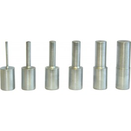 Pressure pin set 6-piece (with perforated plate)