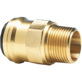 Straight screw-in connector