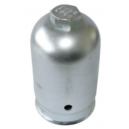 Cap for steel cylinders