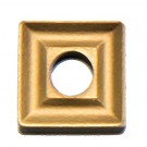 Carbide insert, square, TIN coated