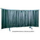 Welding protection wall 3-part,