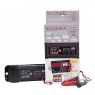 Automatic battery charger 6/12 V.