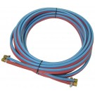 Twin hose set including connections - 10m
