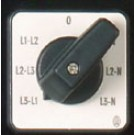Switch for voltage meter