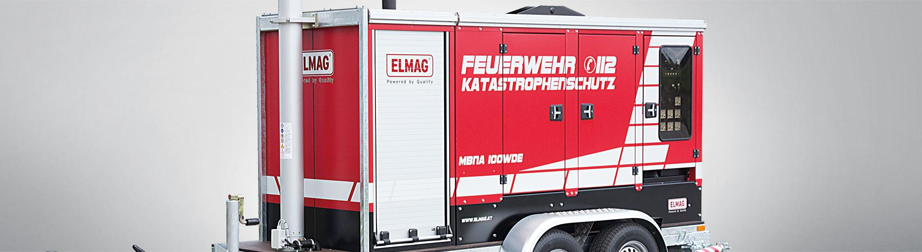 Mobile lighting and emergency power systems