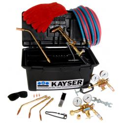 Complete autogenous welding set including steel cylinder trolley (without gas)