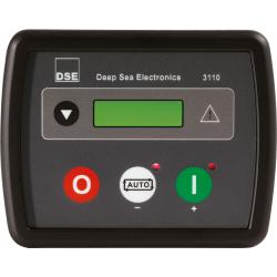 Automatic start-stop controller for generators from 1-44 kVA