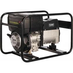Diesel generators - SED 230 & 400 volts - sturdy frame devices