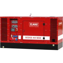 Diesel generators - SEDSS 230 & 400 volts water-cooled - AVR for building sites and systems