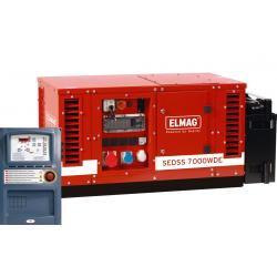 Emergency power systems with diesel engine - complete packages