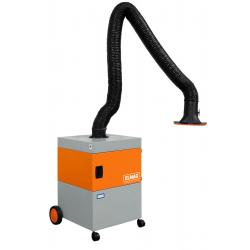 Mobile extraction filter systems