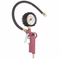 Tyre inflator & measuring devices