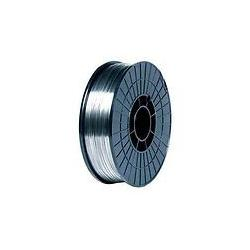 Cored welding wire rollers for no-gas operation