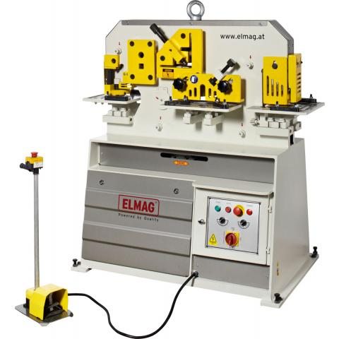 Hydraulic profile steel shears and hole punches