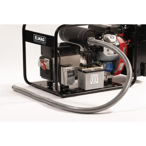Installation options - Special indoor fitting accessories for generators from 1-44 kVA