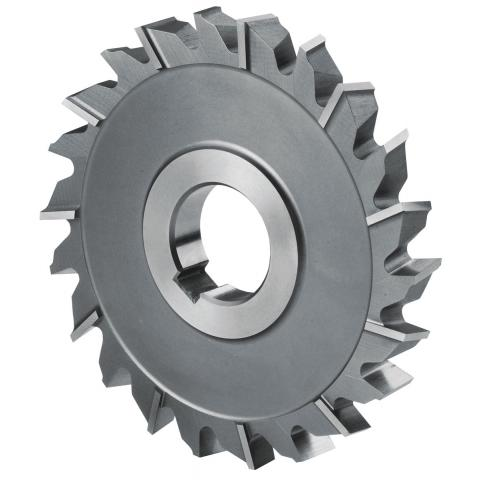 Disc milling cutter fine-toothed