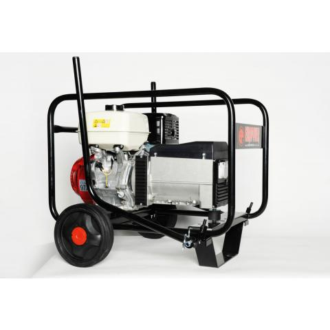 Transport devices - Wheel sets, lifting devices and axle trailers for generators from 1-44 kVA