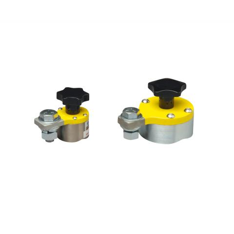 Magnetic terminal clamps, angles, positioning aids