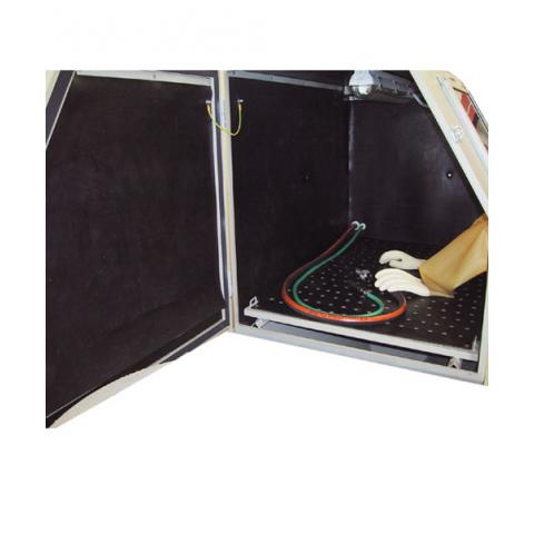 Rubber protective lining for sandblasting cabins PAL