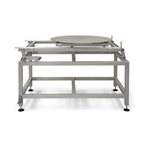 Loading tables with crank