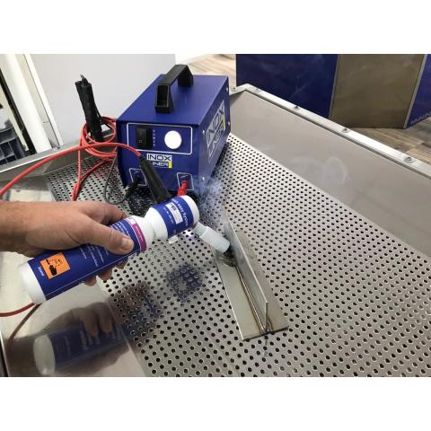 Stainless steel cleaning\marking